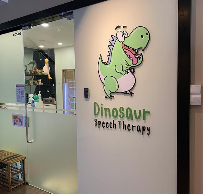 Dinosaur Speech Therapy
